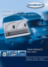 TRADE PRODUCTS 2011-2012 - Schaudt Gmbh