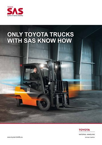 SAS brochure - Toyota Material Handling Europe
