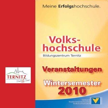 Veranstaltungen Wintersemester