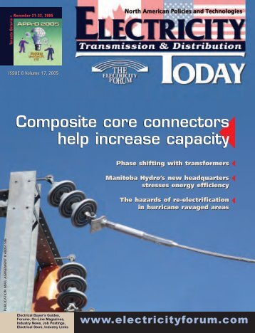 ET Issue8 2005 - Electricity Today Magazine