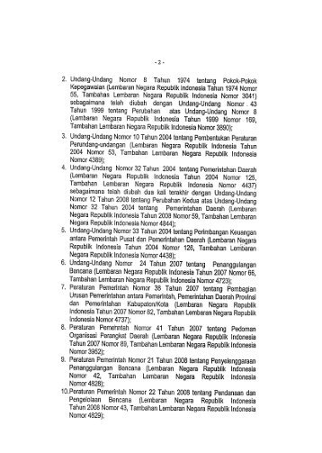 Provinsi Sulawesi Tenggara - BNPB