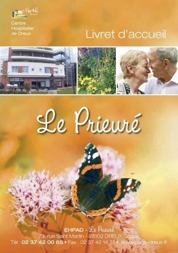 Prieuré - Livret accueil.indd - Dreux.com
