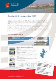 Forslag til Kommuneplan 2009 - Kerteminde Kommune - odeum