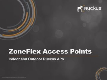 ZoneFlex Access Points