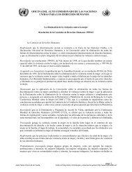 OFICINA DEL ALTO COMISIONADO DE LAS ... - Matrix666