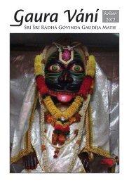 květen 2012 - Sri Sri Radha Govinda Mandir