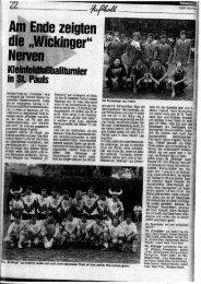 Sport Mittwoch, 22. Juli 2009