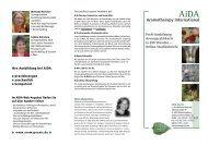 AiDA Aromatherapy International - Eliane Zimmermann
