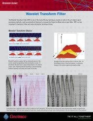Wavelet Transform Filter (WTF)
