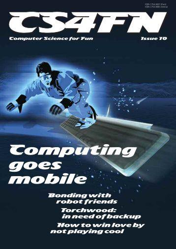 Computing goes mobile - cs4fn