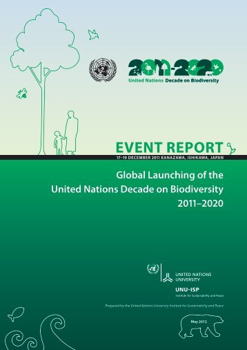 Event Report - UNU-ISP - United Nations University