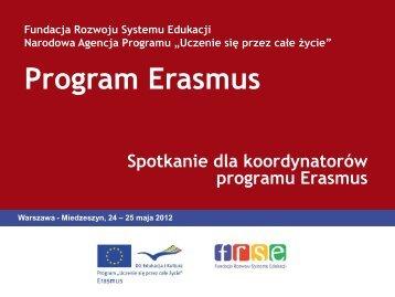 Przegląd zapisów w umowie finansowej - Erasmus
