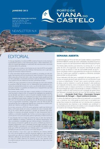 Newsletter #4 - Porto de Viana do Castelo