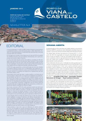 Newsletter #4 - Porto de Viana do Castelo
