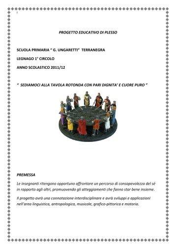 Progetto educativo - Circolo didattico Legnago 1