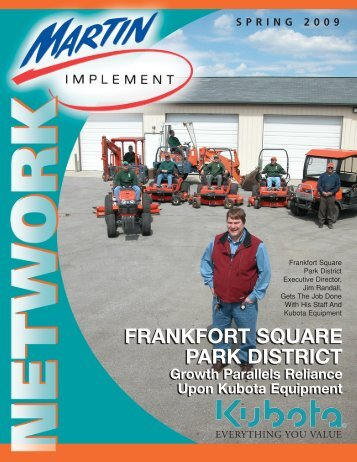 Frankfort square park district - Martin Implement