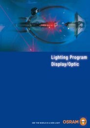 Lighting Program Display/Optic - Blende7