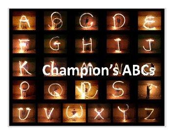 Champion's ABCs - DeKalb County Schools