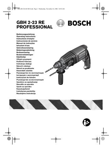 GBH 2-23 RE PROFESSIONAL