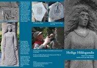 Heilige Hildegundis - Helpenstein
