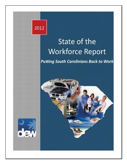 State of the Workforce Report - SC Works Online Services