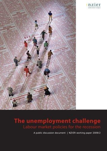 The unemployment challenge - East Asian Bureau of Economic ...
