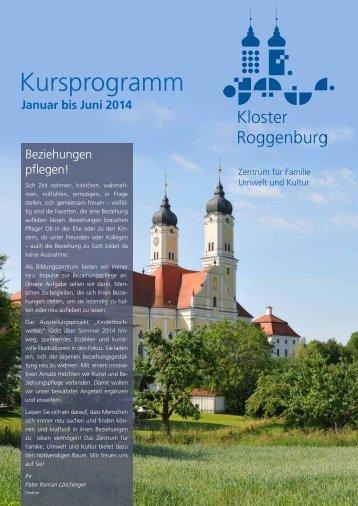 Das Kursprogramm als PDF-Download - Kloster Roggenburg