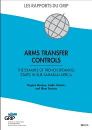 Arms trAnsfer controls