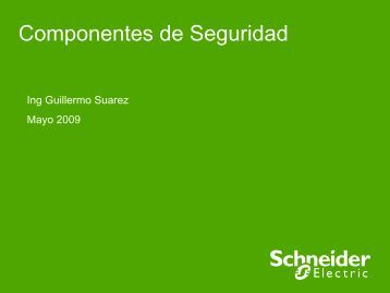 Componentes de Seguridad Safety - Schneider Electric