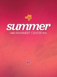 summer - Krannert Center for the Performing Arts