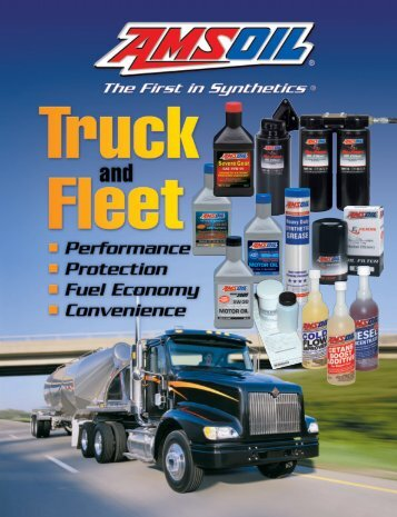 G392 - Truck and Fleet Brochure - Synthetic Motor Oil
