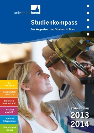 Studienkompass - komplett - Universität Bonn