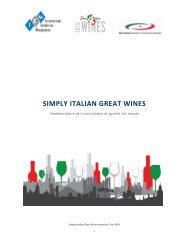 simply italian great wines - Italy-America Chamber of Commerce ...