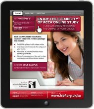 + + ENJOY THE FLEXIBILITY OF ACCA ONLINE STUDY - ps1-1