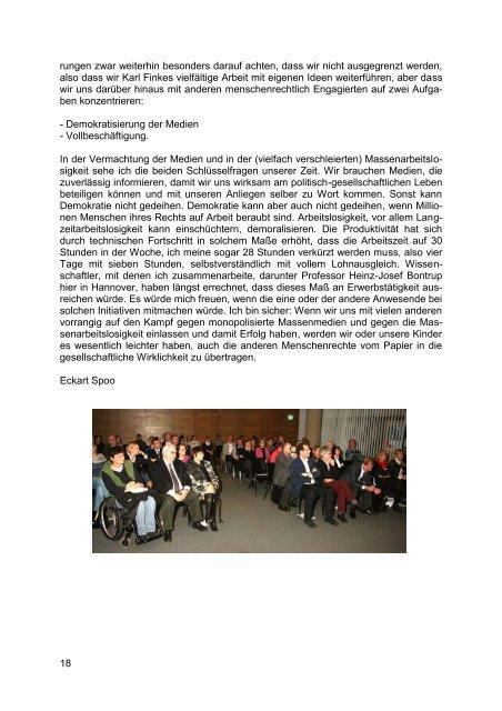 Menschenrechte heute - Behindertenbeauftragter des Landes ...