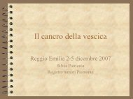 La vescica - Associazione Italiana Registri Tumori