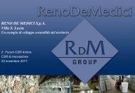 Scarica presentazione Reno De Medici - Anima