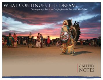 WHAT CONTINUES THE DREAM: - Nevada Arts Council