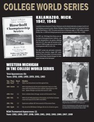 History of WMU in CWS (PDF)