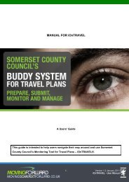 Contents - Moving Somerset Forward