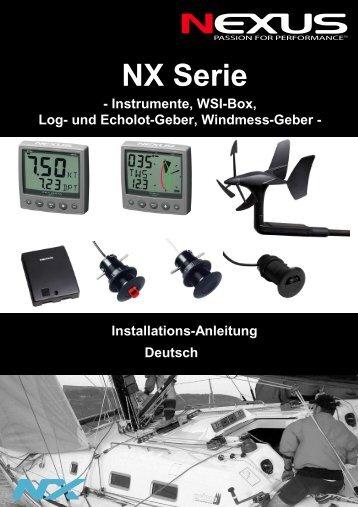Installationsanleitung - Nexus Marine