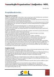 Projektbeskrivelse - Sundby Mors
