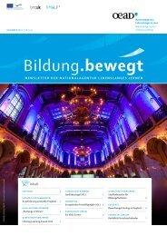 Newsletter 5/2011 - Nationalagentur Lebenslanges Lernen