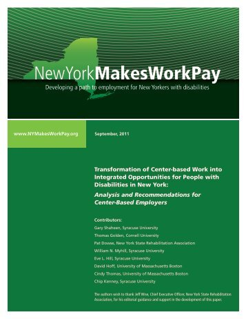 NewYorkMakesWorkPay - Home - Cornell University