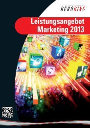 Büroring Marketingplan 2013 - BMC-Marketing