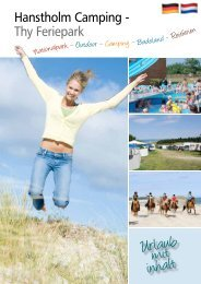 Prospekt 2012 - Hanstholm Camping