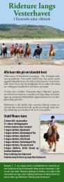 Se Priser og Dagsprogram - Hanstholm Camping