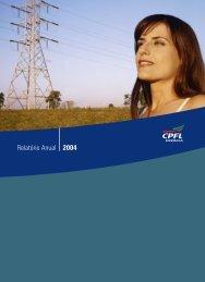 Relatório Anual 2004