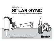 Wireless Solar Sync - Hunter Industries