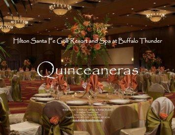 Quinceaneras - Buffalo Thunder Resort & Casino